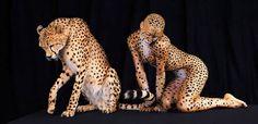 Leopard & lady leopard