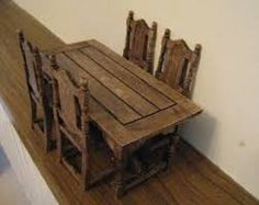 medieval furniture tables chairs - Google Search