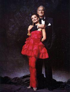 Hubert de #Givenchy et #Audrey Hepburn 1986 Photo Victor Skrebneski ✏✏✏✏✏✏✏✏✏✏✏✏✏✏✏✏ FrenchJewelyVintage  ☞ https://www.etsy.com/shop/frenchjewelryvintage?ref=l2-shopheader-name  ══════════════════════  GABY-FÉERIE Bijoux ☞ http://www.alittlemarket.com/boutique/gaby_feerie-132444.html  ✏✏✏✏✏✏✏✏✏✏✏✏✏✏✏✏