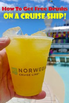How you can get free and nearly free drinks on a cruise ship. Here's tips that I've used to score plenty of free drinks ranging from tasters of beer to free glasses of champagne and even regular-sized cocktails to enjoy while cruising the Caribbean. Packing List For Cruise, Cruise Tips, Cruise Travel, Cruise Vacation, Disney Cruise, Best Cruises For Kids, Fun Cocktails, Drinks, Best Honeymoon Destinations
