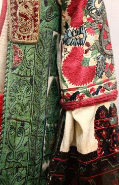 another selection of interesting details from the national history museum, Athens: Greek Traditional Dress, Traditional Outfits, Ethnic Fashion, Boho Fashion, Greek Fashion, Contemporary Decorative Art, Greek Costumes, Dance Costumes, Knitting Blogs