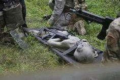 UFO Slaughtered, Military Capture ALIEN Dead