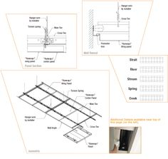 Wood Slat Ceiling System