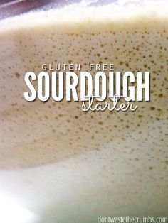 How to Make a Gluten-Free Sourdough Starter. Step by step instructions and pictures making a gluten-free sourdough starter with brown rice flour.
