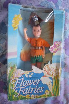 Vintage Hornby Flower Fairies 1985 PINE PIXIE by LittleToyLost