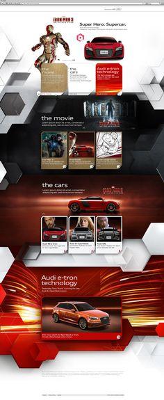 Iron Man 3 - Audi R8 e-tron | Dedigner: Christian Mies | #webdesign #it #web #design #layout #userinterface #website #webdesign < repinned by www.BlickeDeeler.de | Take a look at www.WebsiteDesign-Hamburg.de