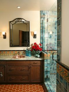 Spanish Style Bathrooms :pictures | Spanish Style