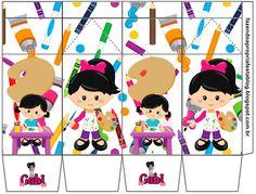 Olá queridos amigos ( as ) e seguidores do nosso Blog . Hj temos mais um Kit feito especialmente por mim ( Gabi Bonfim )p ajudar a colori... Art Themed Party, Art Party, Party Themes, 4th Birthday, Birthday Parties, Blog Backgrounds, Head Start, Minnie Mouse, Paper Crafts