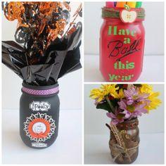 Crafts with Jars: mason jar crafts....cd use for cheerleader gifts like a shadow box