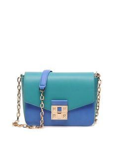 Liu Jo Mavi Yeşil Kol Çantası #çanta #clutch #bag #günlükçanta #kolçantası #moda #fashion #trend #leather #deriçanta #derikolçantası