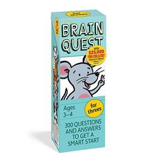 BrainQuest - looking for any ages 3 and up