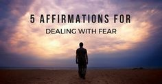 5 Affirmations for Dealing with Fear Postpartum Depression Screening, Signs Of Postpartum Depression, Dealing With Depression, Dealing With Stress, Anxiety Disorder, Writing A Book, Self Help, Counseling, Natural Remedies