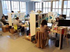 The 15 Coolest Offices In Tech: Fab Office Tour