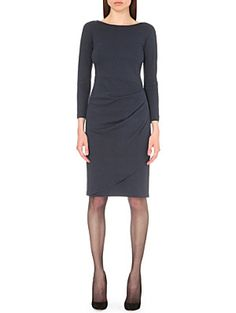 ARMANI COLLEZIONI Ruched stretch-jersey dress