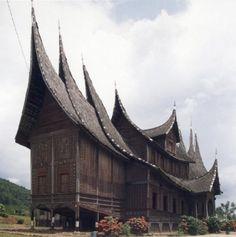 Rumah Gadang - Traditional house of the Minangkabau, West Sumatra, Indonesia