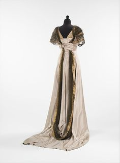 Evening dress Design House: Callot Soeurs (French, active 1895–1937) Designer: Madame Marie Gerber (French) Date: 1914 Culture: French