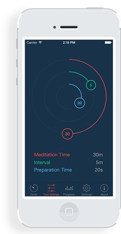 Enso Meditation Timer App. Wonderful for beginner or advanced meditation practice.