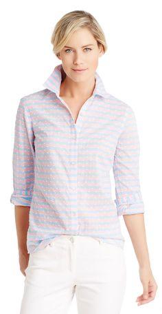 Lois Shirt in Swiss Dot