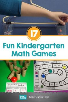 17 Kindergarten Math Games That Make Numbers Fun from Day One