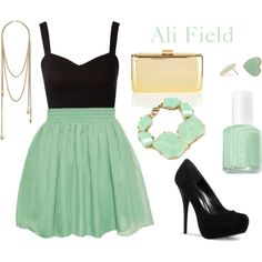 cute mint outfit :)