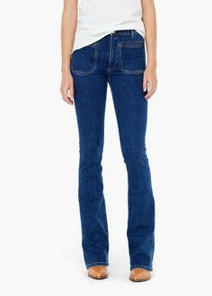 Ausgestellte jeanshose -  Damen | MANGO