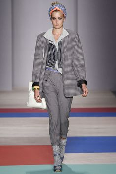 Monochrome at Marc by Marc Jacobs #LFW #SS2013 #trends #blackandwhite