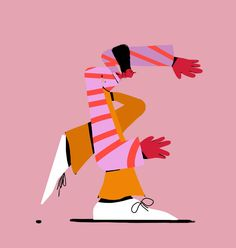 Random Big Shoes Characters on Behance People Illustration, Flat Illustration, Character Illustration, Graphic Design Illustration, Digital Illustration, Art Illustrations, Christmas Drawing, Character Design Animation, Sketch Inspiration
