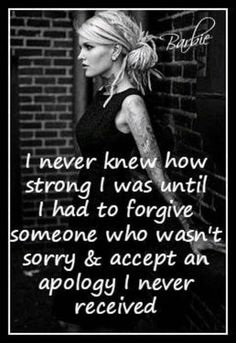 Forgiveness is easier said than done, but its for the best. Especially when a person keeps hurting you. Let go, and let God!