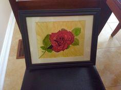 Alcohol Ink Painting, My Arts, Paper, Frame, Home Decor, Homemade Home Decor, Interior Design, Frames, Home Interiors