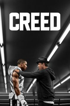 Creed - Creed is a movie starring Michael B. Jordan, Sylvester Stallone, and Tessa Thompson. The former World Heavyweight Champion Rocky Balboa serves as a trainer and mentor to Adonis Johnson, the son of his late friend and former rival. Rocky Balboa, Hd Movies Online, 2015 Movies, Good Movies, Latest Movies, Watch Movies, Movies Free, Movies 2019, Streaming Hd