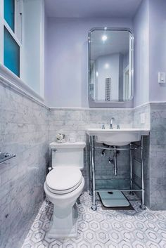Types of Vanities to Consider For Your Remodel - Actual bathroom renovations in NYC! Small Bathroom, Master Bathroom, Downstairs Loo, New York Homes, Bathroom Paint Colors, Contemporary Bathrooms, City Living, Bathroom Flooring, Bathroom Renovations