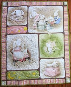 Baby Quilt Child quilt Lap Quilt Wall by PictureThisKathiLeal, $75.00