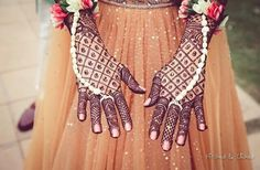 Explore latest Mehndi Designs images in 2019 on Happy Shappy. Mehendi design is also known as the heena design or henna patterns worldwide. We are here with the best mehndi designs images from worldwide. Indian Mehendi, Indian Mehndi Designs, Mehndi Designs For Hands, Bridal Mehndi Designs, Latest Mehndi Design Images, Heena Design, Hand Mehndi, Beautiful, Real Weddings