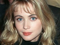 French actress Emmanuelle Beart, one of the most beautiful women in the world.