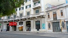 Banco Popular no Saldanha em Lisboa, Portugal