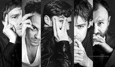 Sherlock cuties. Sherlock John, Bbc Sherlock Holmes, Sherlock Cast, Sherlock Fandom, Sherlock Comic, Jim Moriarty, Johnlock, Martin Freeman, Rupert Graves