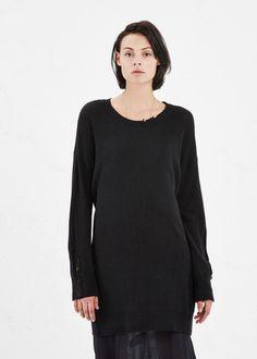 Raquel Allegra Long Sleeve Sweater Dress