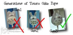 Tales of a Malaysian Guiri: Totoro Cake Pops