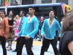 Bollywood Flash Mob, New York