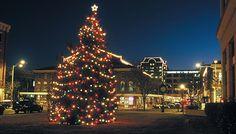 Holidays in Roanoke, VA Market Street