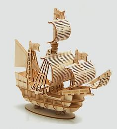 Sailboat - laser cut