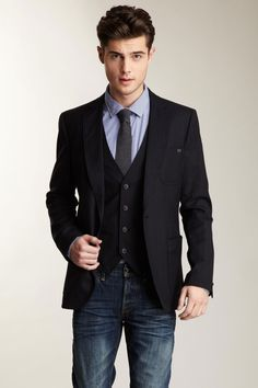 Scotch and Soda Pinstripe Blazer