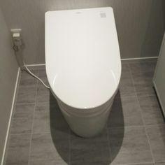Bathroom/クッションフロア/TOTOネオレスト/TOTOトイレ/きれい除菌水/床グレーのインテリア実例 - 2017-07-15 11:20:28