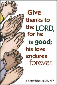 render to the lord | Oh, give thanks to the Lord, for He is good! For His mercy endures ...