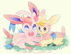 Sylveon and Deerling!!