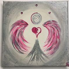 """Heute zum Abend schicke ich Euch die wertvolle Botschaft dieses Herzengel des Schutzes:  """"der einzige Schutz den Du für Dich aufbauen kannst, ist die Liebe-Deine Selbstliebe... die stärkste Macht die es gibt.... liebe Dich selbst.... liebe das Leben.... und Du wirsd sehen Du bist beschützt💖💗💖  Herzlichst  Carmen   Bild/Quelle: by Carmen-Art"""