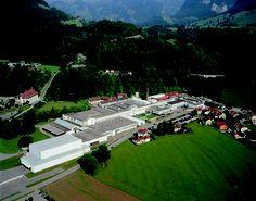 Cailler Factory in Broc Switzerland