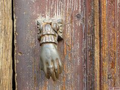 Detail of old door in Coimbra-Portugal (Photo © Doors Portugal)