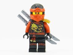 LEGO Ninjago Skybound Kai Red Ninja Minifigure Sky Pirate NEW 2016