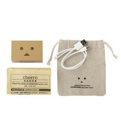 Danboard Mini Power Plus Japanese robot face portable charger - $44